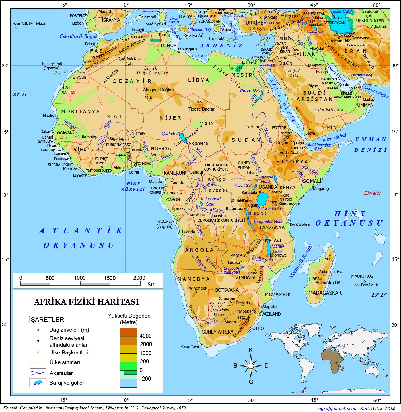 Afrika Haritası
