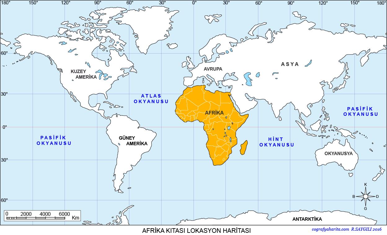 Afrika Haritası 3