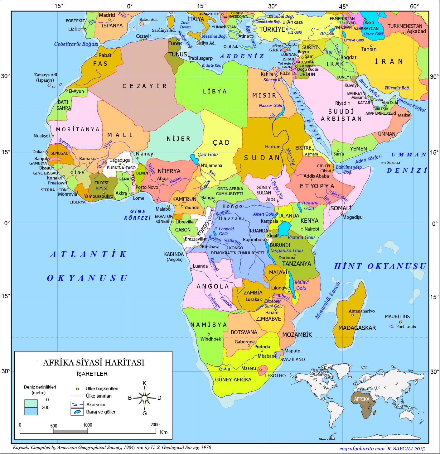Afrika Haritası 2