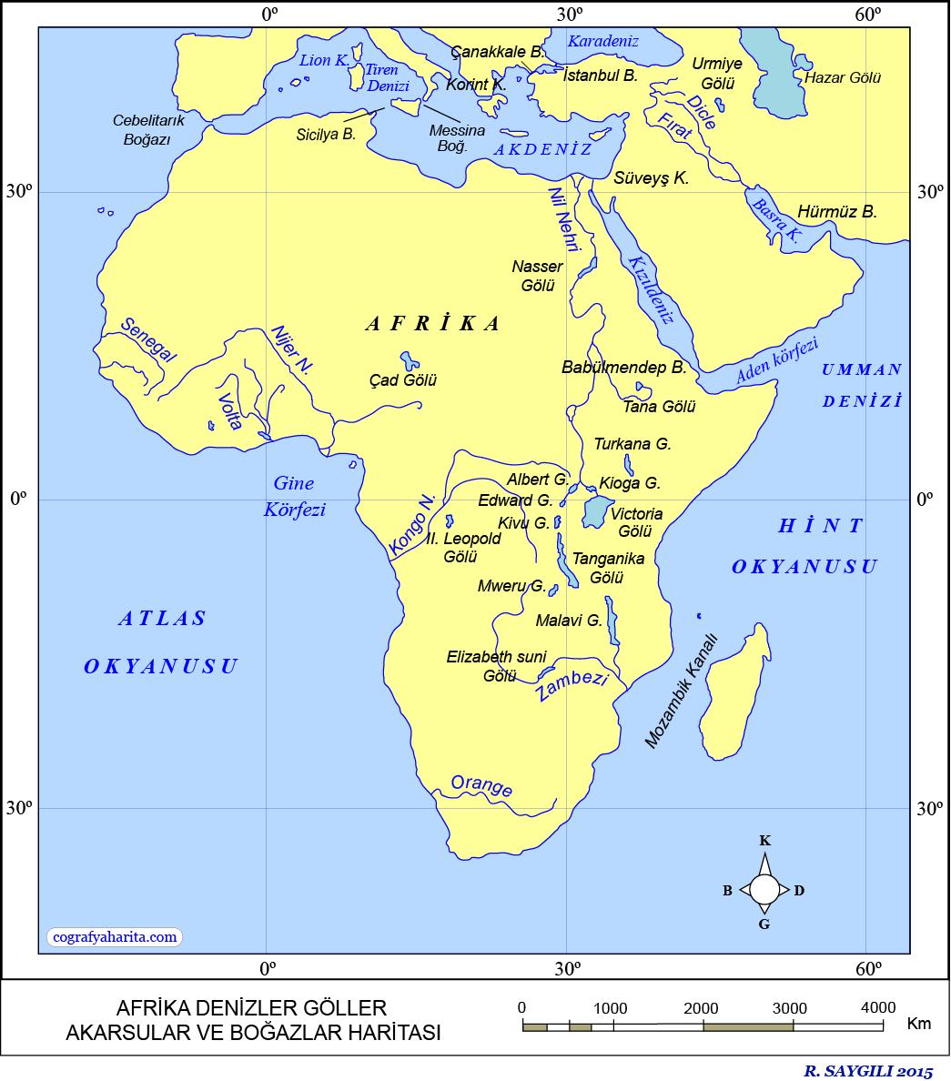 Afrika Haritası 4
