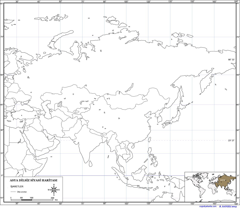 Asya Haritası 4