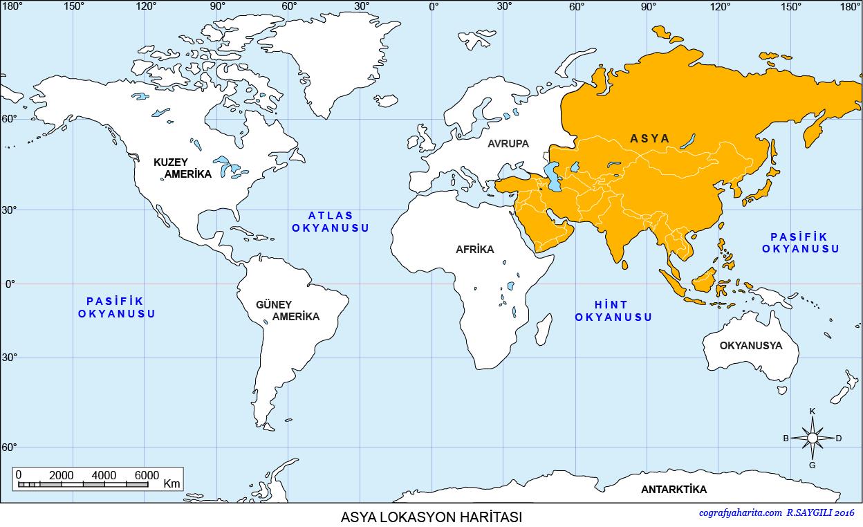 Asya Haritası 3