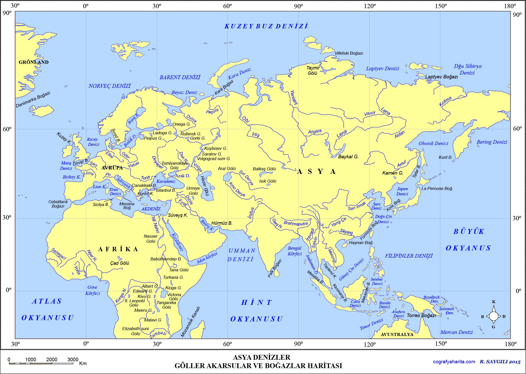 Asya Haritası 5