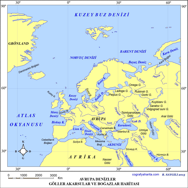 Avrupa Haritası 5