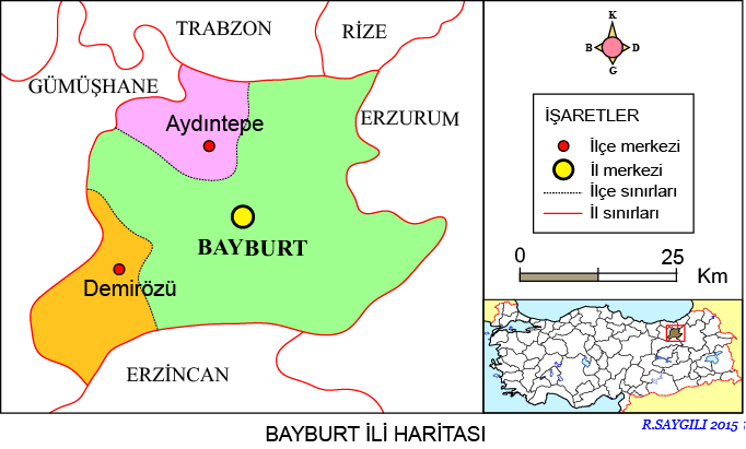 Bayburt Haritası