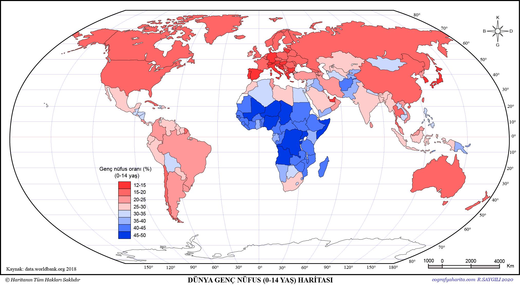 Dünya Nüfus Haritaları 4