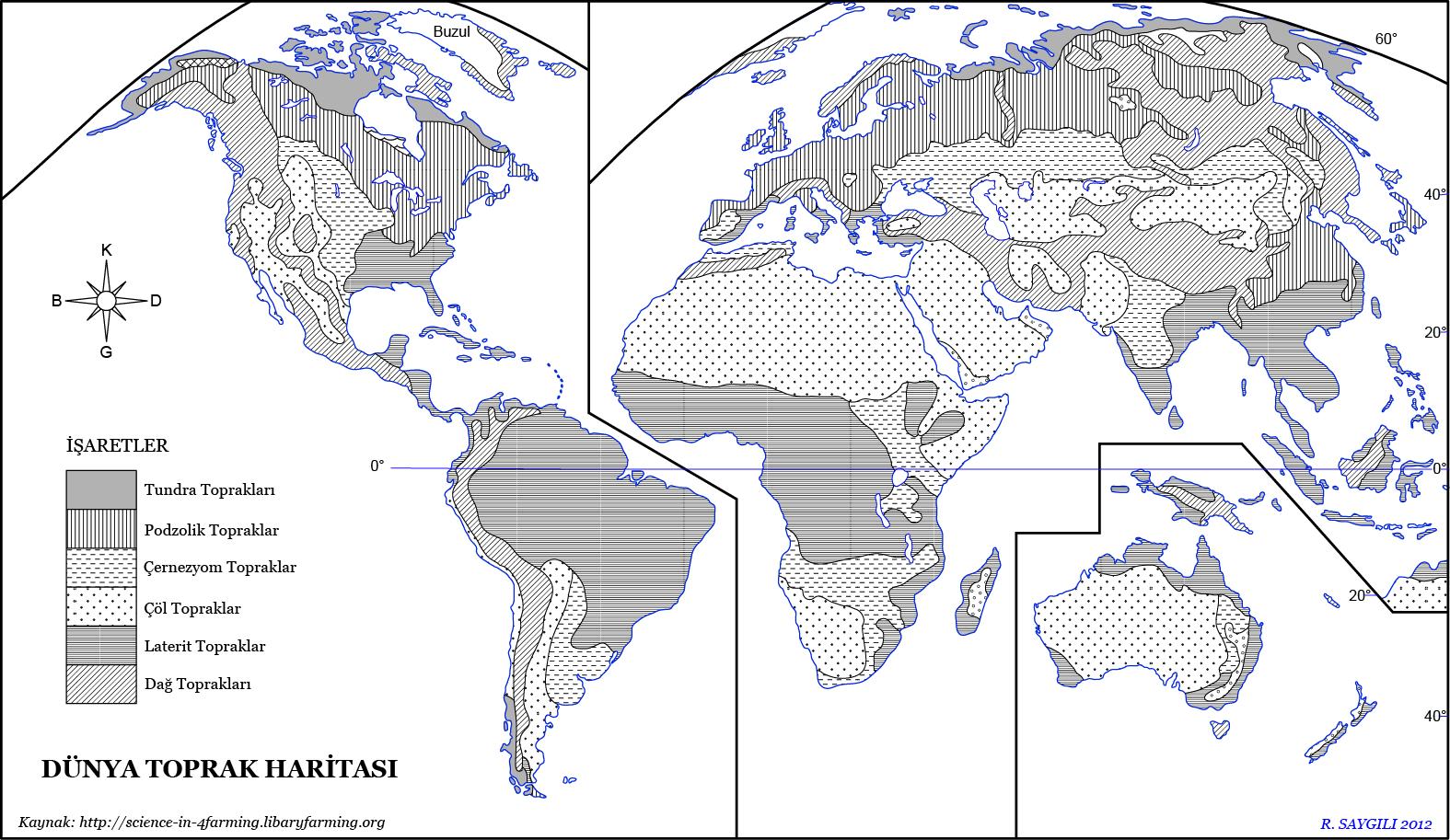 Dünya Toprak Haritası 2