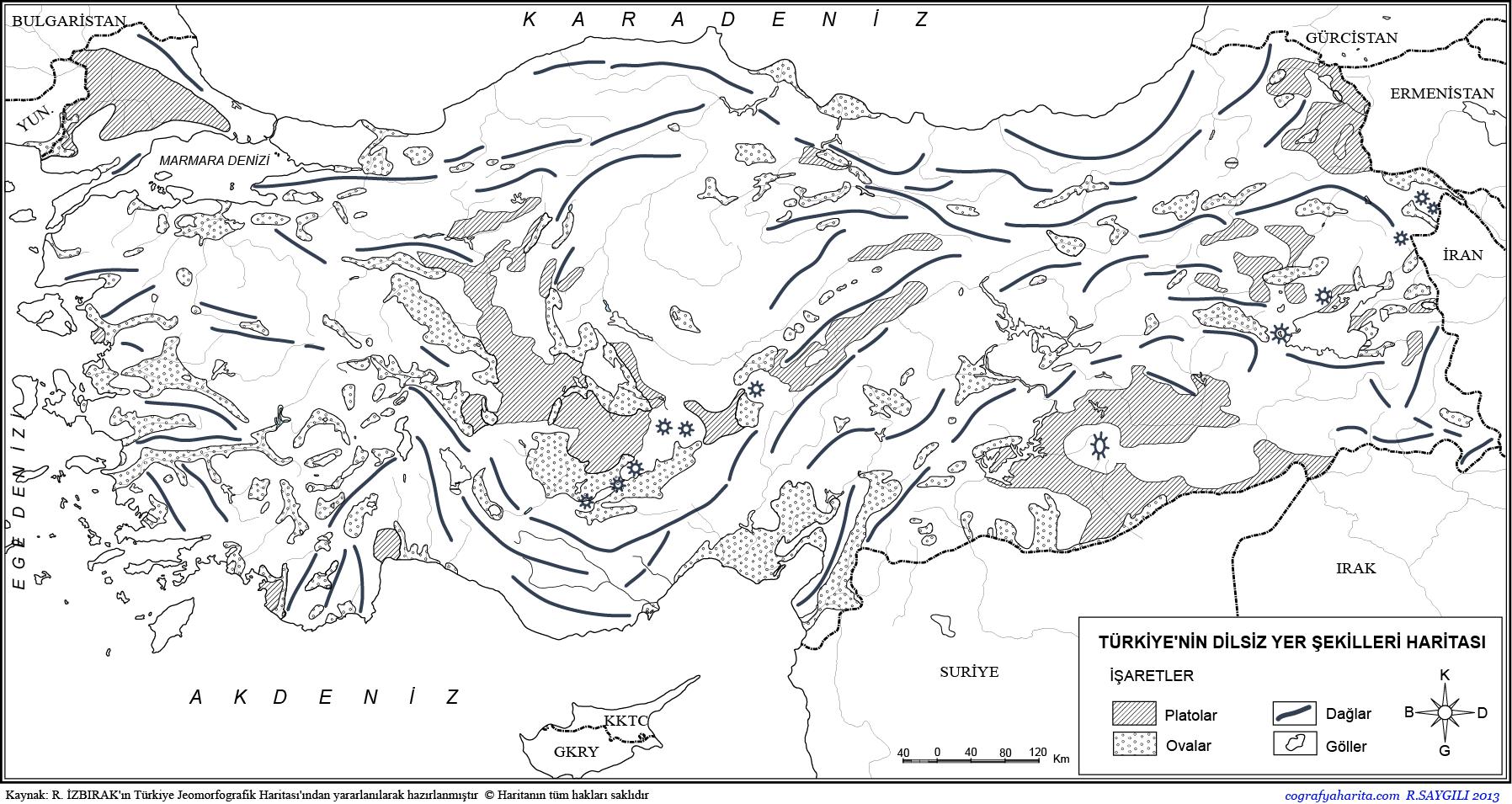 Türkiye Dilsiz Haritaları 4