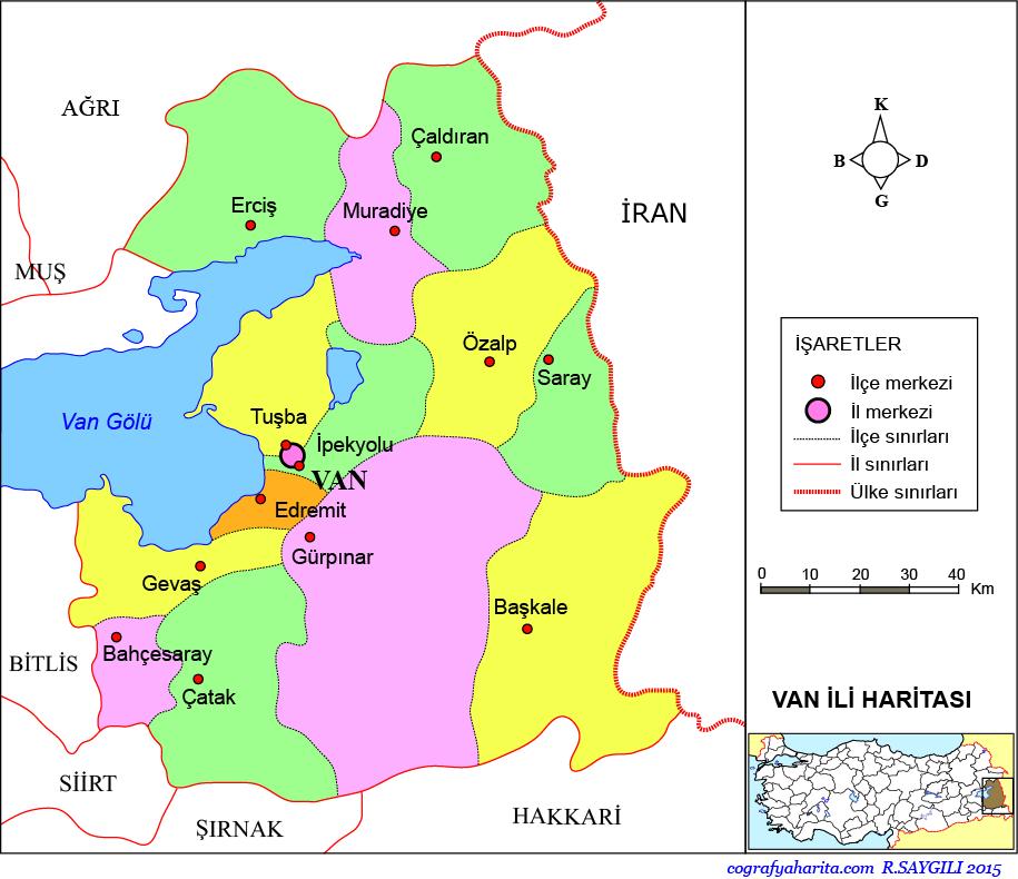 Van Haritası